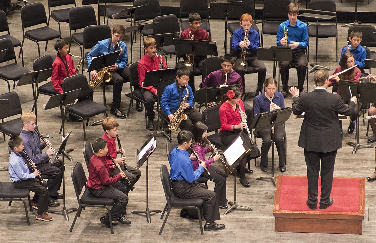 Flute Forum, Junior Wind Ens., Philharmonia, Fortissimo Flutes, Clarinet Ensemble Spring Concert