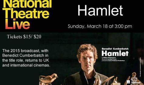 "National Theatre Live ""Hamlet"""