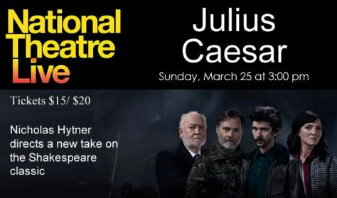 "National Theatre Live ""Julius Caesar"""
