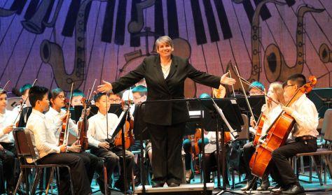 Preparatory Strings, Junior Stings, Sinfonia, Flute Choir
