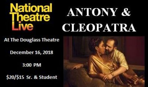 "National Theatre Live ""Anthony & Cleopatra"""