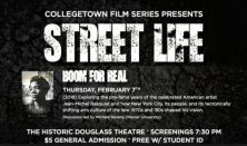 College Town Film Series: BOOM FOR REAL