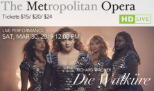 "The Met Opera Live in HD ""DIE WALKüRE"""