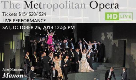 """MET Live in HD """"Manon"""""""