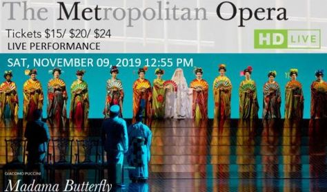 "MET Live in HD ""Madama Butterfly"""