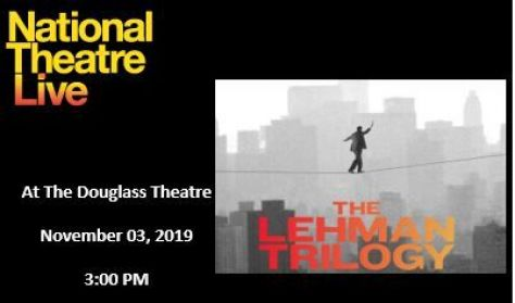 """National Theater Live's """"The Lehman Trilogy"""""""