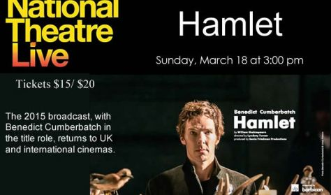 "National Theatre Live ""Hamlet"""