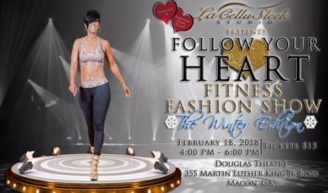 Follow Your Heart Fitness Fashion Show