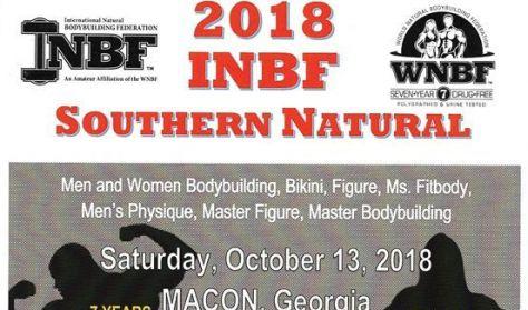 WNBF/INBF Southern Natural Pre-Judging