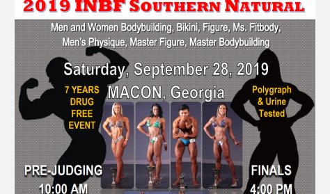 WNBF/INBF Southern Natural Finals