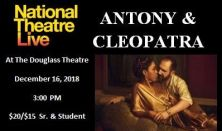 """National Theatre Live """"Anthony & Cleopatra"""""""