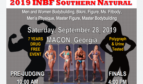 WNBF/INBF Southern Natural Day Pass