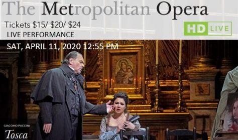"""MET Live in HD """"Tosca"""""""