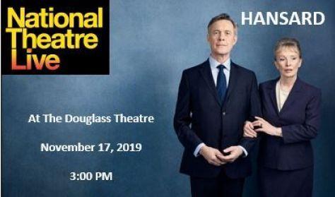 "National Theater Live's "" Hansard"""