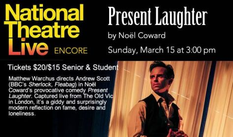"National Theater Live's ""Present Laughter"""