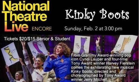 """NT Live's """"Kinky Boots"""""""