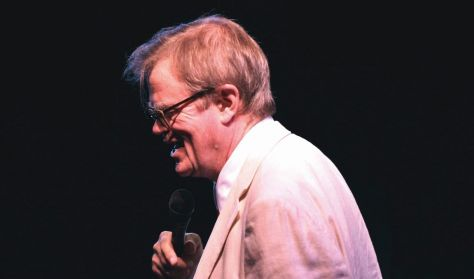 Garrison Keillor with Special Guests Robin and Linda Williams