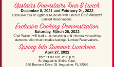 Upstairs Downstairs Tour & Lunch